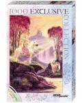 Блестящ пъзел Step Puzzle от 1000 части - Магическата долина