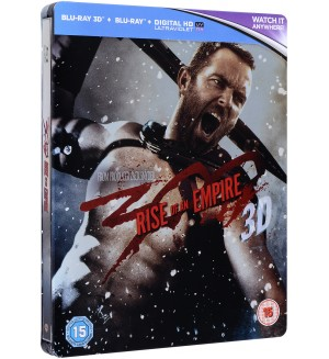 300: Rise of an Empire - Limited Edition Steelbook 3D+2D (Blu-Ray)