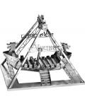 3D метален пъзел Tronico - Викингски кораб