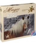 Пъзел D-Toys от 239 части - Магията на конете, Хафлингер I, Едита Троянска
