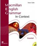 Macmillan English Grammar In Context + CD-ROM - Essential Level