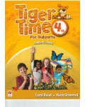 Tiger Time for Bulgaria for the 4-th grade Учебник