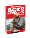 Допълнение за ролева игра Star Wars: Age of Rebellion - Analyst Specialization Deck