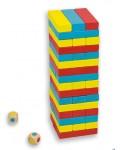 Балансна кула Дженга със зарчета Andreu toys