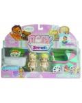 Детска играчка Headstart - Бебе изненада, 3 броя, с аксесоар