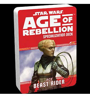 Допълнение за ролева игра Star Wars: Age of Rebellion - Beast Rider Specialization Deck