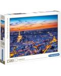 Пъзел Clementoni от 1500 части - Гледка към Париж