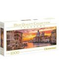Панорамен пъзел Clementoni от 1000 части - Гранд Канал, Венеция