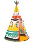 Детска палатка Djeco - Индианско типи