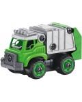 Детска играчка Buki - Боклукчийски камион с радиоуправление и отвертка