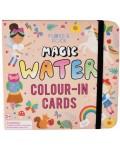 Детски карти за оцветяване Floss and Rock Magic Water - Феята на дъгата
