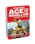 Допълнение за ролева игра Star Wars: Age of Rebellion - Diplomat Signature Specialization Deck