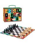 Комплект за игра в куфарче Djeco – Шах и дама