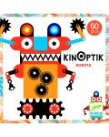 Анимирани картини КинОптик Djeco – Роботи, 60 части