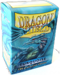 Dragon Shield Standard Sleeves - Тюркоазени (100 бр.)