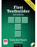 First Testbuilder + audio CD 3-rd edition