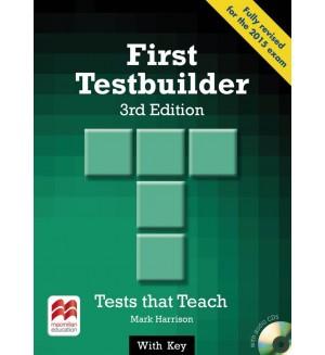 First Testbuilder + audio CD 3-rd edition