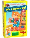 Детска игра Haba - Подреди стаята на котарака Типтоп