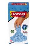 Кинетичен пясък в кутия Heroes – Син цвят, 1000 g