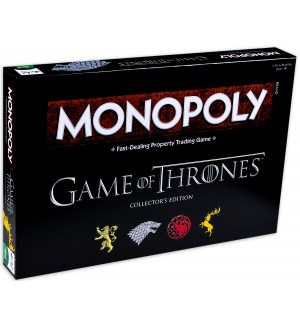Настолна игра Monopoly: Game of Thrones Collectors Edition