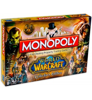 Настолна игра Monopoly: World of Warcraft Collector's Edition