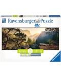 Панорамен пъзел Ravensburger от 1000 части - Парк Йосемити