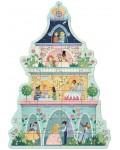 Пъзел гигант Djeco - The Princess Tower, 36 части