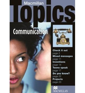 Macmillan Topics Communication Pre-Intermediate
