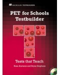 PET for schools Testbuilder + Audio CD