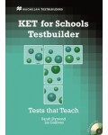 KET for schools Testbuilder + audio CD