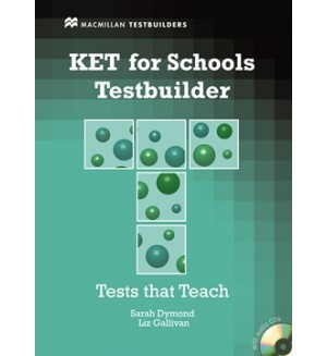 KET for schools Testbuilder + audio CD