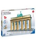 3D Пъзел Ravensburger от 324 части - Бранденбургската врата, Берлин 3D