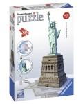 3D Пъзел Ravensburger от 108 части - Статуята на Свободата 3D
