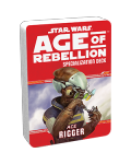 Допълнение за ролева игра Star Wars: Age of Rebellion - Rigger Specialization Deck