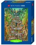 Пъзел Heye от 2000 части - Протест!, Марино Дегано