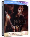 The Hobbit: The Desolation Of Smaug - Steelbook Extended Edition 3D+2D (Blu-Ray)