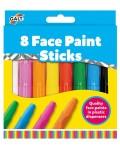 Творчески комплект Galt Toys – Боички, стикчета за лице, 8 бр