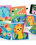 Творчески комплект Rex London - Рисувай с филц, Животни
