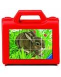 12 пъзелни кубчета – Животни