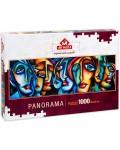 Панорамен пъзел Art Puzzle от 1000 части - Градски стил, Майкъл Ланг