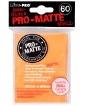 Ultra Pro Card Protector Pack - Small Size (Yu-Gi-Oh!) Pro-matte - Оранжеви 60 бр.